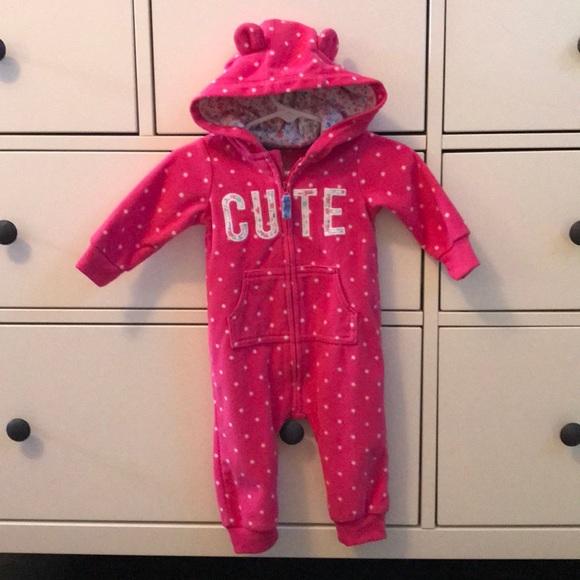 Carter's Other - Warm Fleece Zip Up